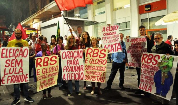 RBS protestos