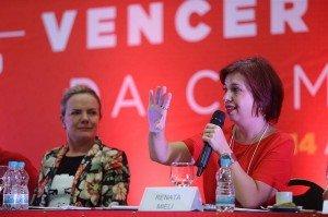 Renata Mielli e Gleisi