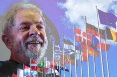 Lula e europeus