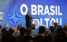Temer e Brasil voltou