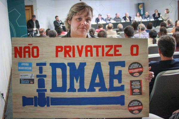 Dmae não privatize