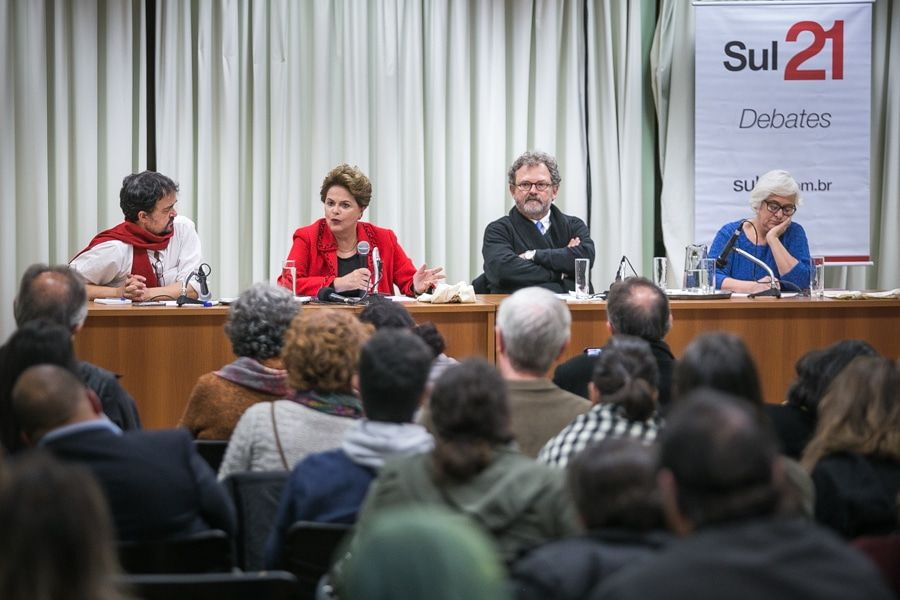 Mesa com Dilma