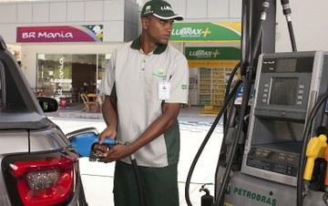 Gasolina no posto
