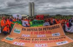 Petroleiros em Brasília