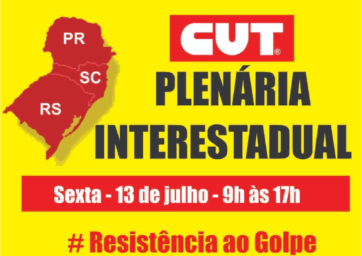 Plenária Intestadual