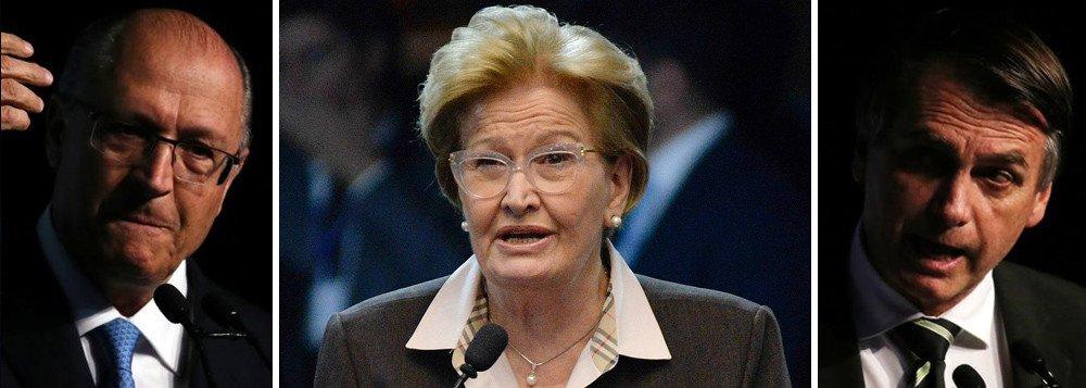 Alckmin, Ana Amélia e Bolsonaro