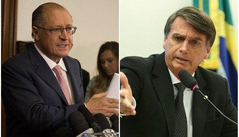 Alckmin e Bolsonaro