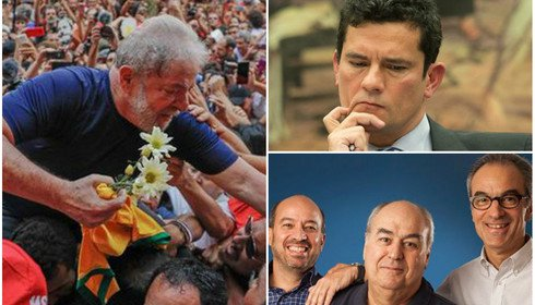 Lula, Moro e Globo