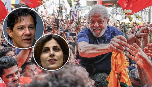 Lula com Boulos e Haddad