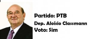 Aloísio Classmann- PTB