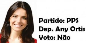 Any Ortis - PSB-Não