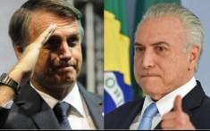 Bolsonaro e Temer
