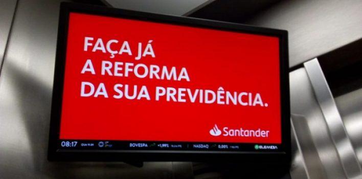 Santander e reforma