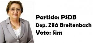 Zilá Breitenbach - PSDB