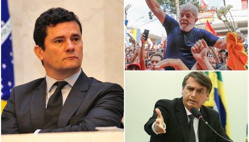 Moro, Lula e Bozo