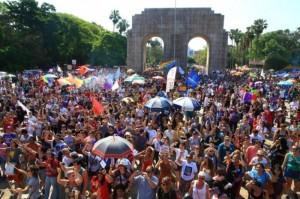 Protesto na Redenção