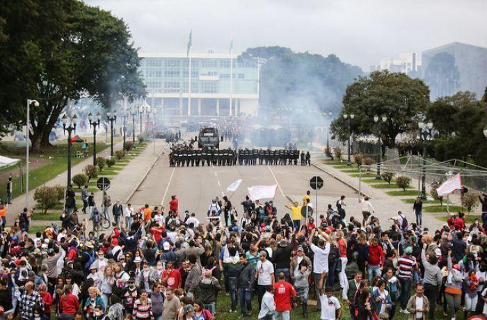 Repressão no Paraná