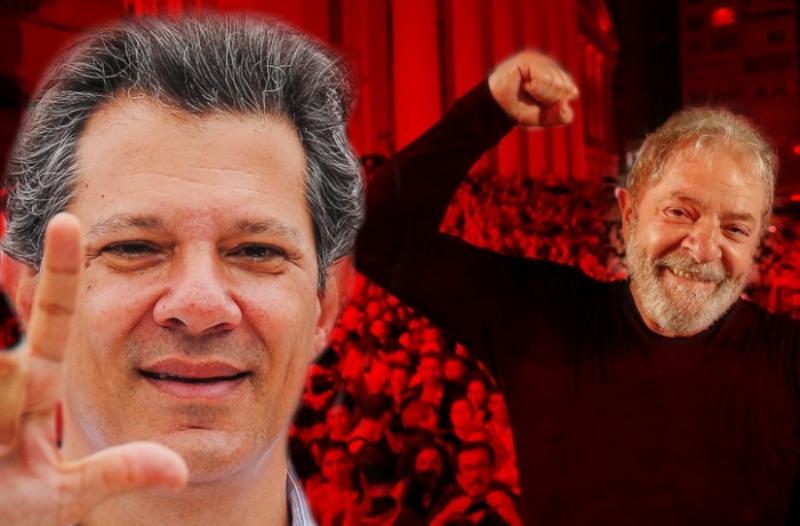 Haddad e Lula livre