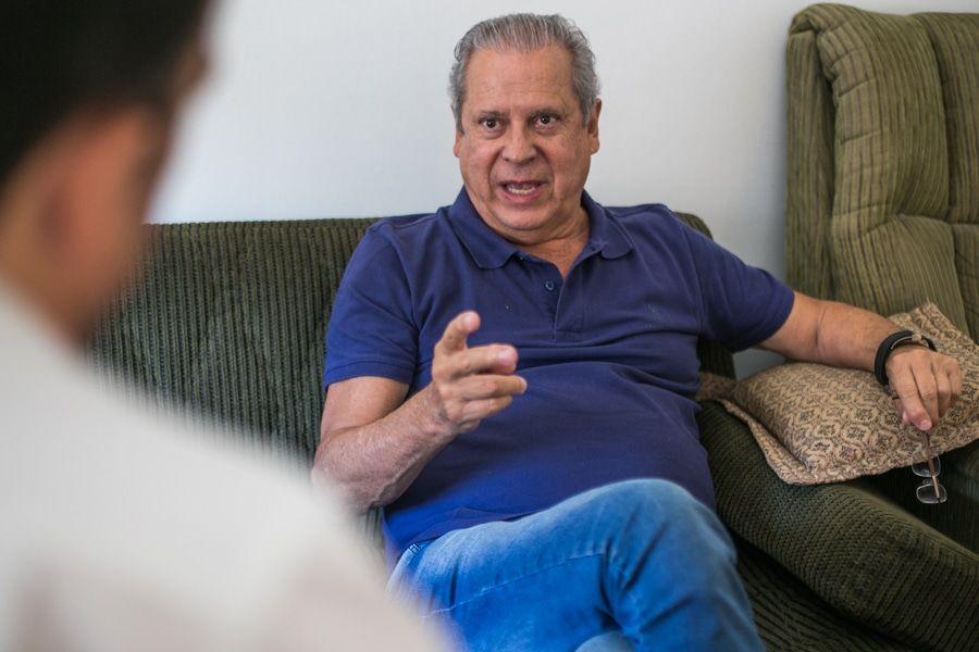 José Dirceu entrevista