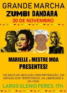 Marcha Zumbi 2018