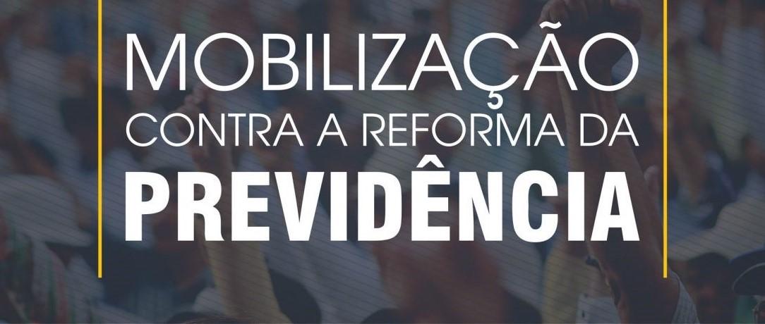 Mobilização contra reforma