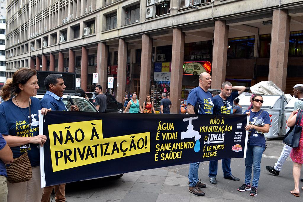 Não à privatização do Dmae1