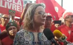 Gleisi em Curitiba