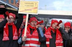 Alemães protestam