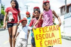 Crianças na luta