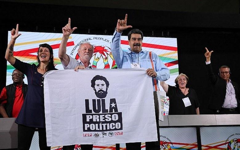 Maduro e Stedile