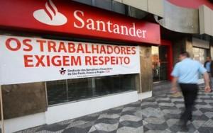 Santander pressão
