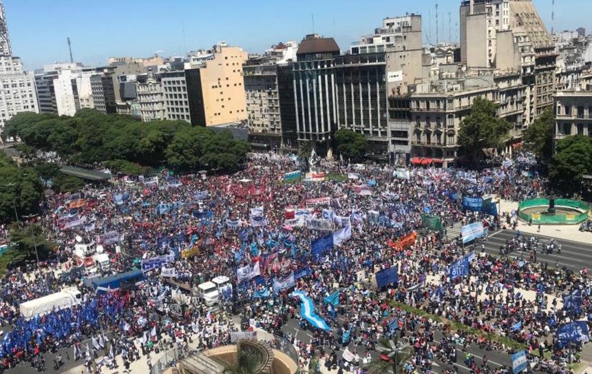 Buenos Aires protesta