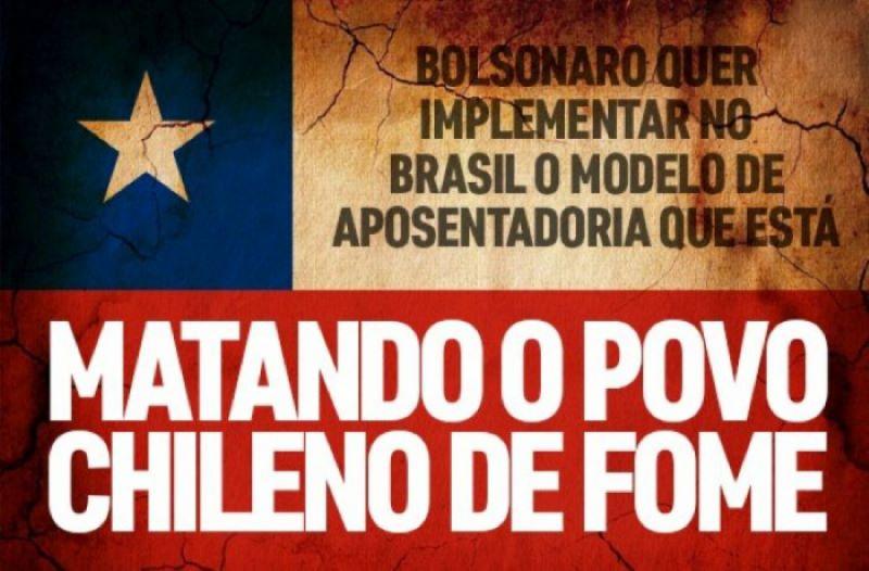 Matando o povo chileno