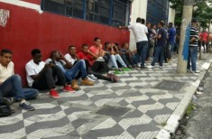 Desemprego - fila