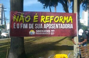 Não é reforma