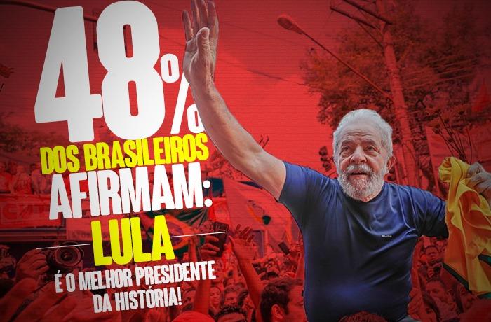 Lula é o melhor