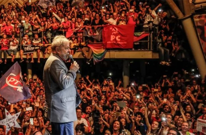Lula fala com o povão