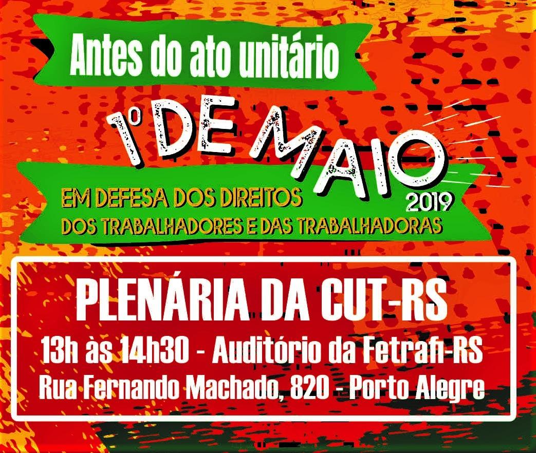 Plenária da CUT-RS
