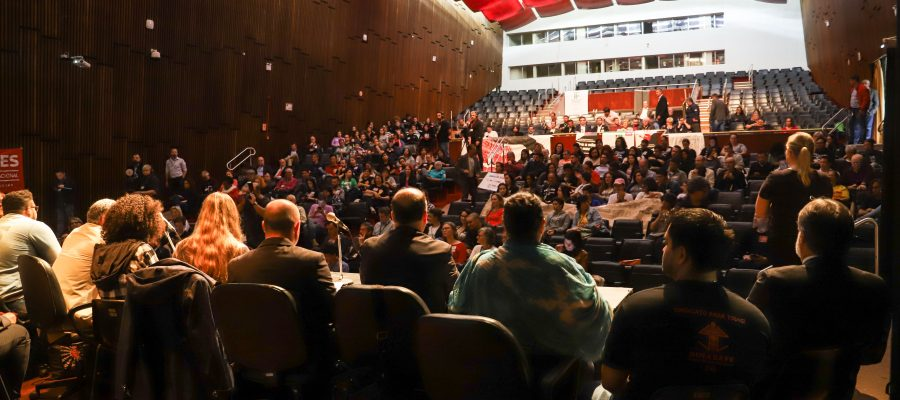 Audiência sobre educação