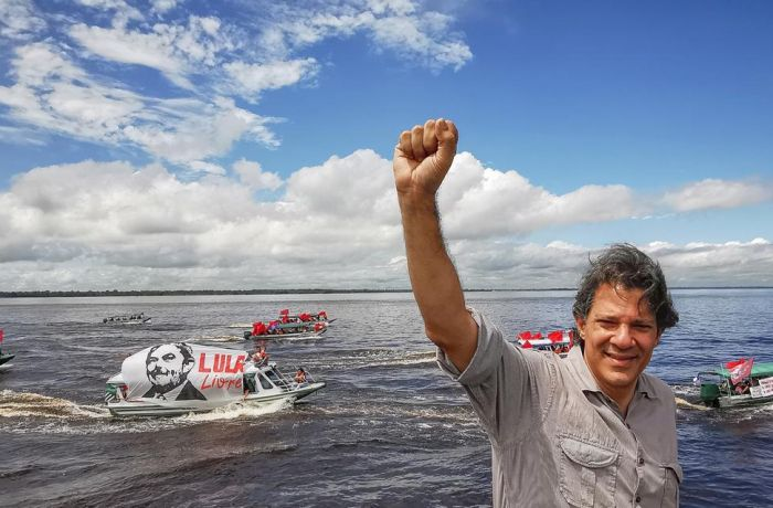Haddad na Amazônia