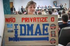 Não privatize o DMAE