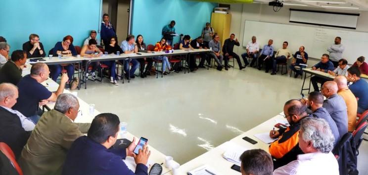 Reunião das centrais SP (2)