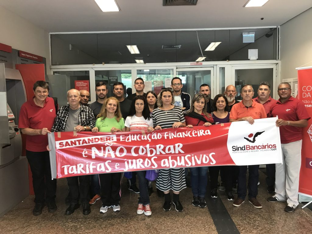 Santander voluntário