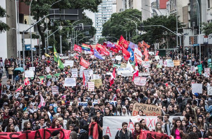 Ato em Curitiba