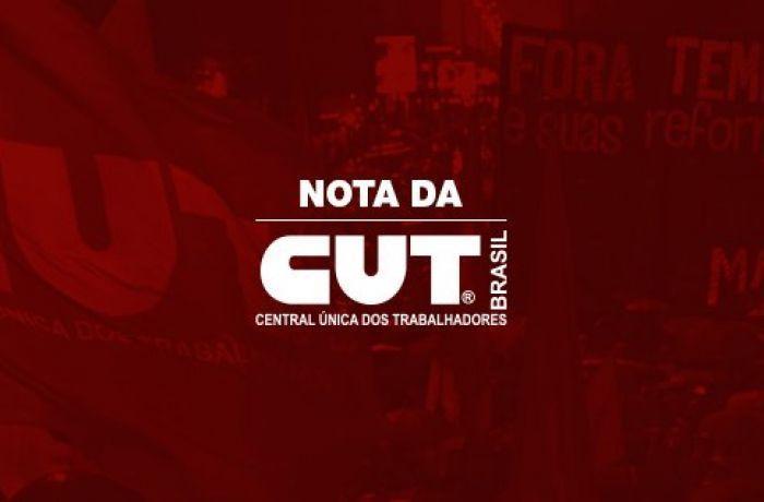 Nota da CUT-1