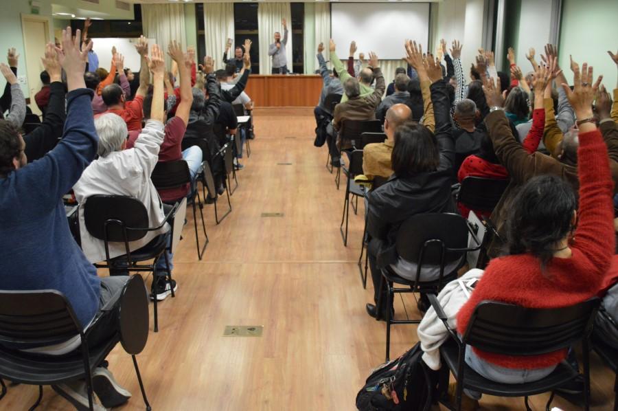 Votação da greve