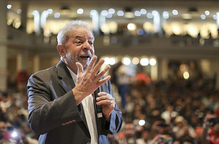 Lula falando9