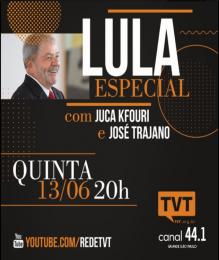 Lula na TVT1