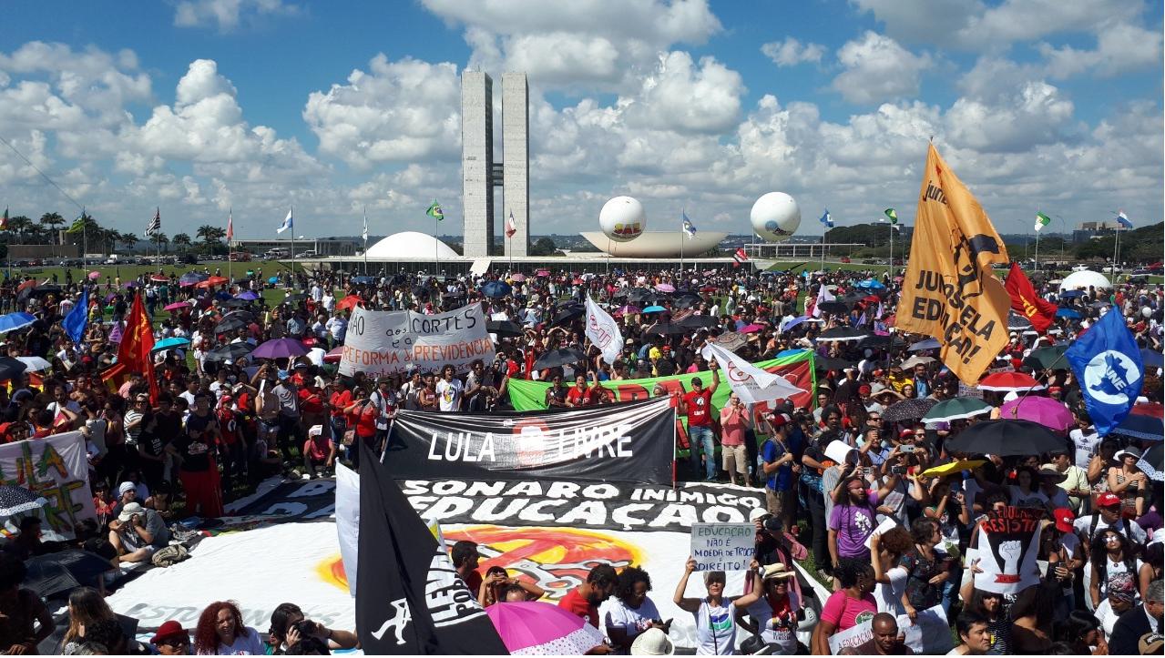 Estudantes em Brasília