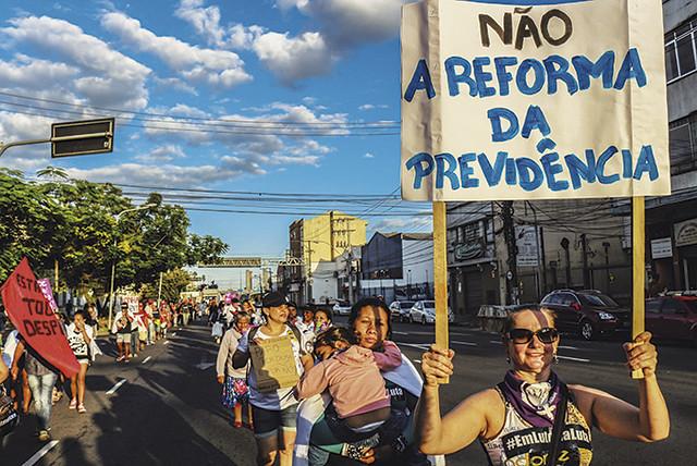 Não à reforma